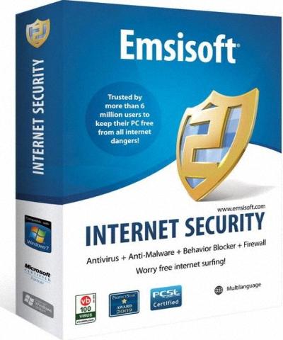 Emsisoft Internet Security Pack 8.0.0 RUS key ключ скачать бесплатно