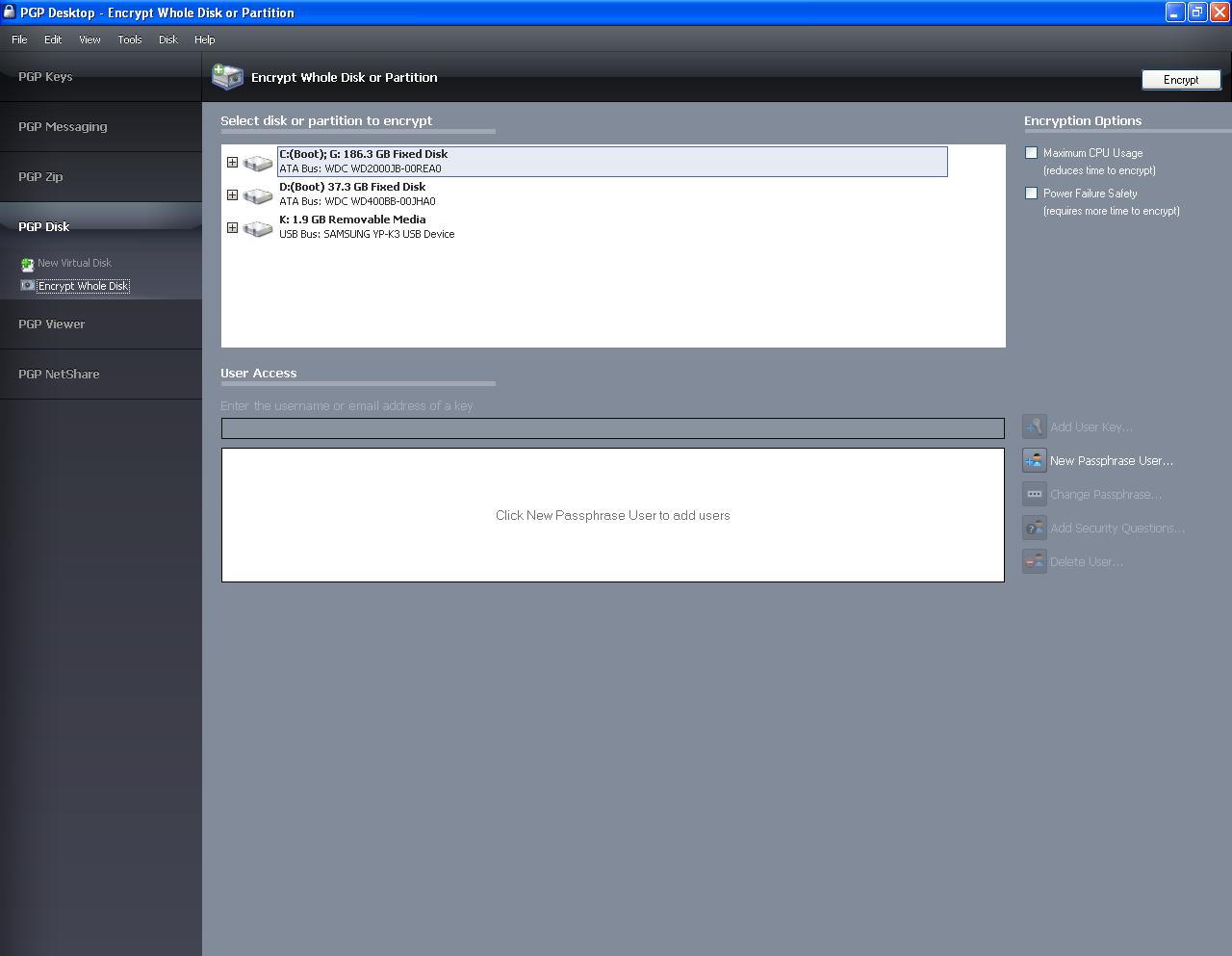 Pgp desktop professional v9.9 embrace