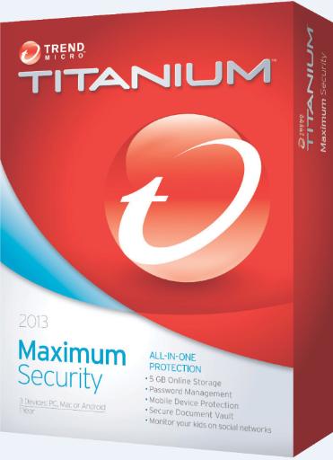 Titanium Maximum Security 2013 RUS скачать бесплатно - антивирус