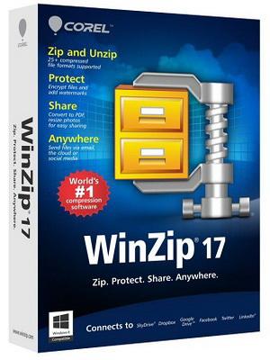 WinZip Pro 17.0 RUS скачать Винзип архиватор бесплатно