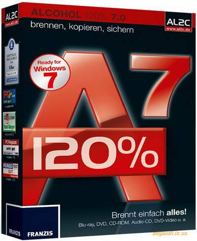 Alcohol 120% 7.0 + Portable RUS