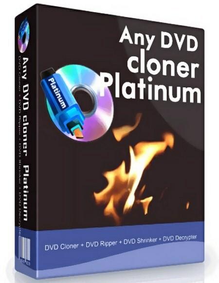 Any DVD Cloner Platinum 1.1.8 RUS скачать - клонер ДВД