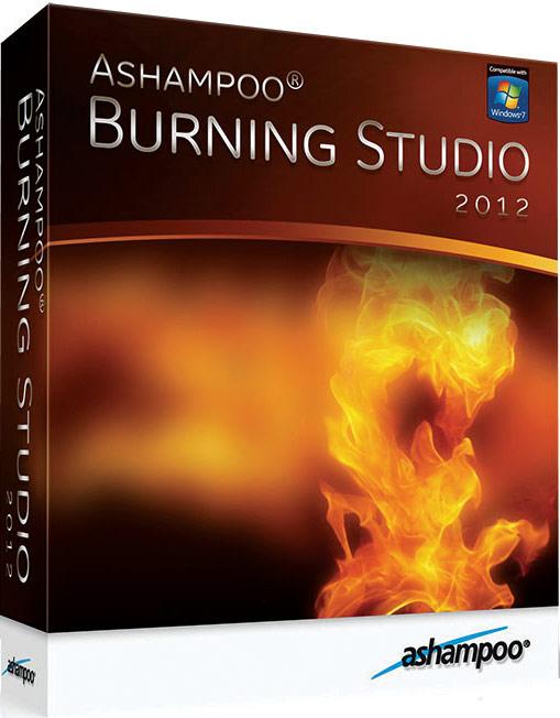 Ashampoo Burning Studio 2012 RUS + ключ скачать бесплатно
