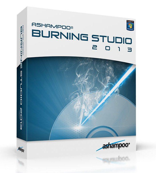 Ashampoo Burning Studio 2013 RUS ключ скачать бесплатно - запись CD/DVD