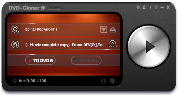 DVD-Cloner 9.60 скачать бесплатно - копирование DVD дисков