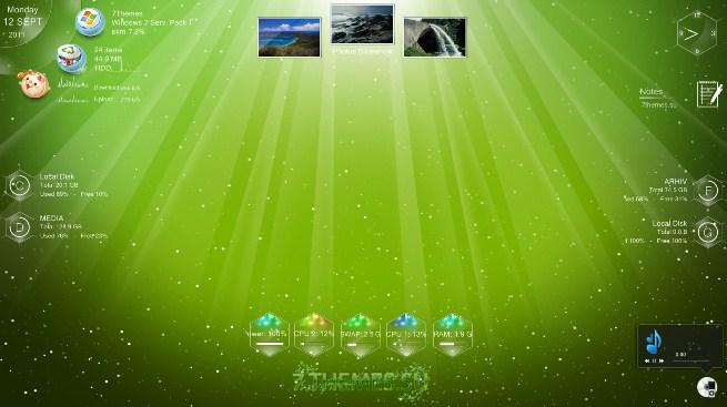 Rainmeter - Темы на Русском скачать бесплатно