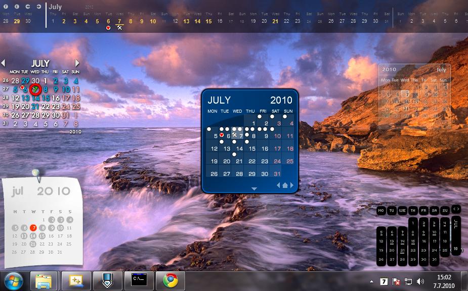 Rainlendar Pro 2.11 RUS keygen скачать - гаджет календарь для windows 7