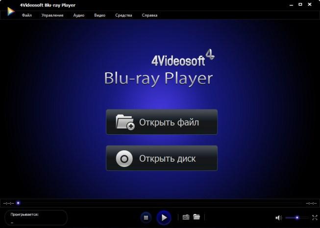 4Videosoft Blu-ray Player 6.1 RUS - Блюрей проигрыватель скачать