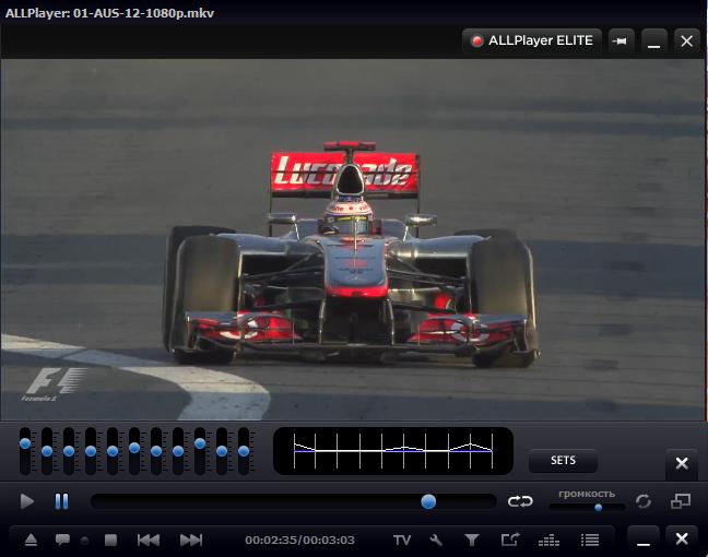 ALLPlayer 5.0.5 RUS скачать бесплатно - Бесплатный Видео проигрыватель