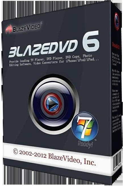 BlazeDVD Professional 6.1 (MULTI) скачать бесплатно