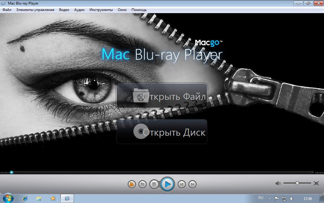 Mac Blu-ray Player 2.6.3 RUS скачать бесплатно - Мак блюрей плеер