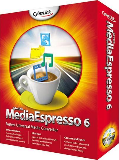 CyberLink MediaEspresso 6.5 RUS + crack ключ скачать бесплатно