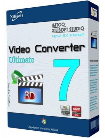 Xilisoft Video Converter 7.7.2 + ключ Русская версия скачать бесплатно