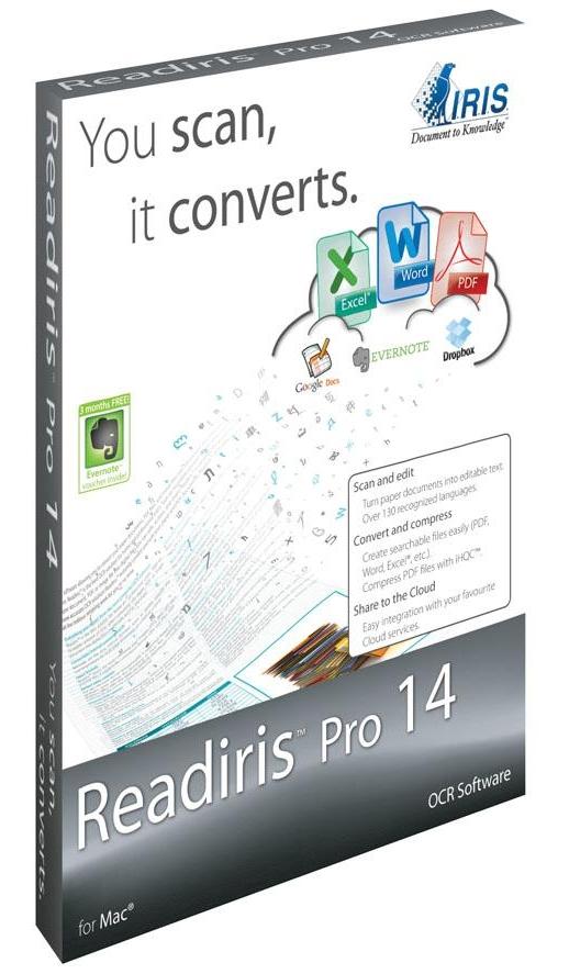 Readiris Pro 14.1 RUS + crack скачать бесплатно