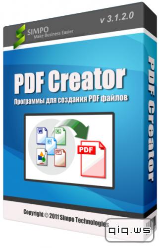 Simpo PDF Creator Pro 3.1 + ключ скачать бесплатно - создание PDF