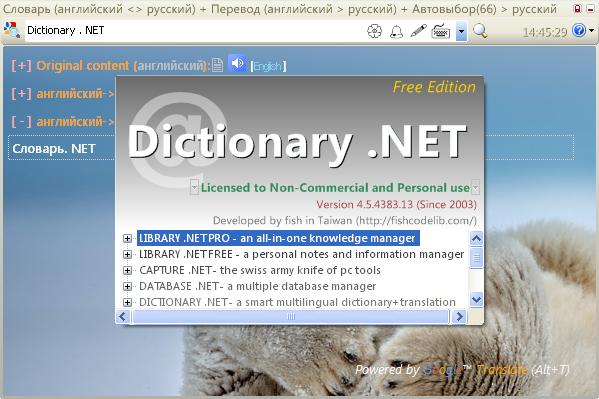 Dictionary net 4 2 4340 rus portable
