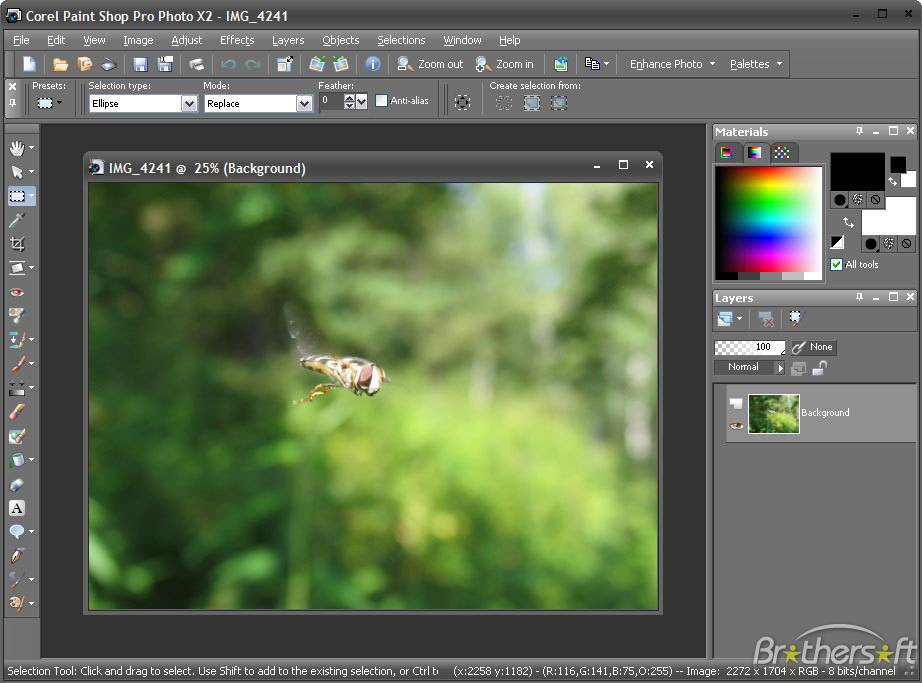 Corel Paint Shop Pro X2 Portable RUS скачать бесплатно