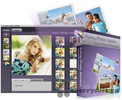 Funny Photo Maker 1.15 RUS скачать бесплатно - фоторедактор