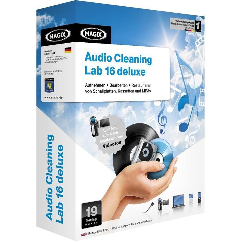 MAGIX Audio Cleaning Lab 16 Deluxe RUS + ключ скачать бесплатно