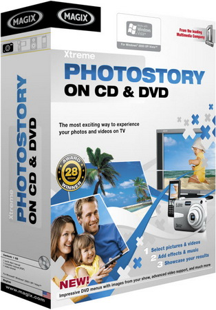 MAGIX Xtreme Photostory on CD & DVD Deluxe 9.0 RUS + ключ скачать бесплатно