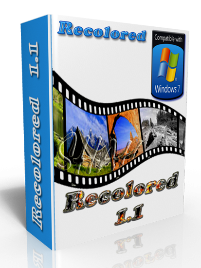 Recolored 1.1 Portable RUS скачать - превращение ч/б фото в цветные