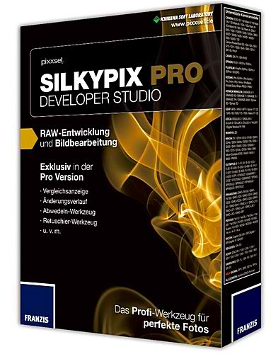 SILKYPIX Developer Studio Pro 5.0 + keygen RUS скачать бесплатно