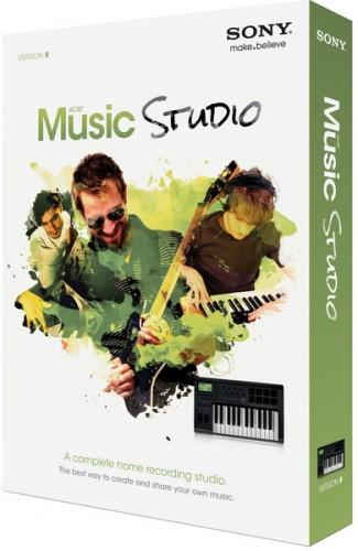 Sony ACID Music Studio 9.0 RUS - Сони Асид Мьюзик скачать