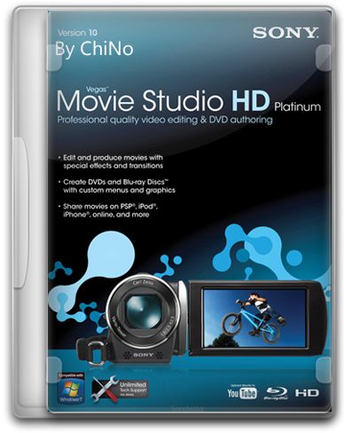 Sony Vegas Movie Studio HD Platinum 11.0 RUS скачать бесплатно - Cони Вегас 11