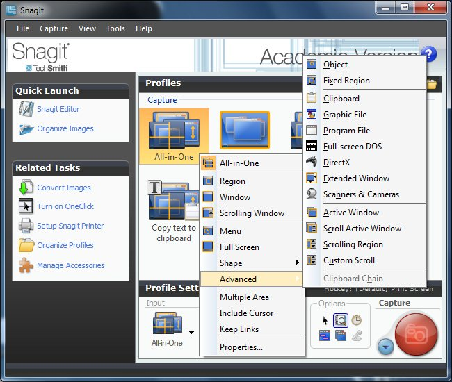 Techsmith Snagit 10 + Portable RUS + keygen скачать бесплатно