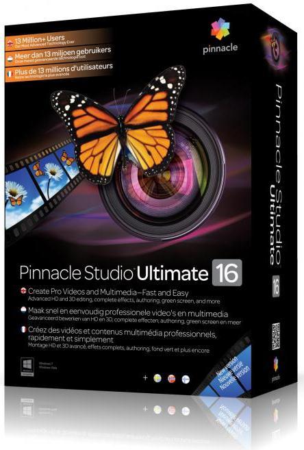 Pinnacle Studio 16 Ultimate скачать бесплатно - Пинакл студио русская версия