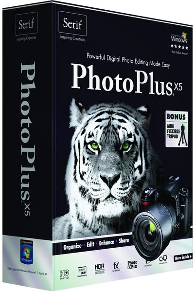 Serif PhotoPlus X5 15.0 RUS скачать бесплатно - фото редактор
