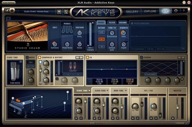 XLN Audio Addictive Keys 1.0.1 ENG скачать беспланто