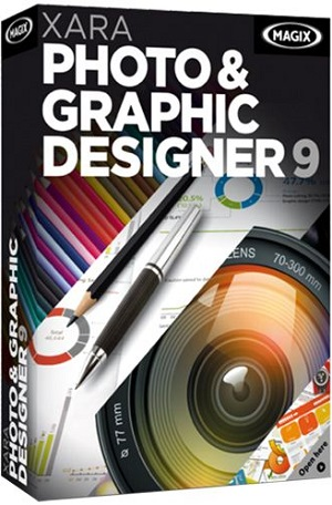 Xara Photo & Graphic Designer 9.1 RUS + serial скачать бесплатно