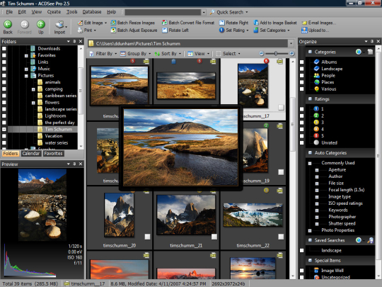 ACDSee Pro 3.0 Build 475 + ACDSee Photo Manager 12.0 Build 344 RUS (ключ)