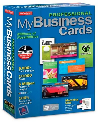 Mojosoft BusinessCards MX 4.63 RUS + crack + keygen скачать бесплатно