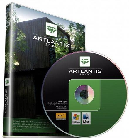 Artlantis Studio 4.1.7 RUS скачать бесплатно - Программа Атлантис