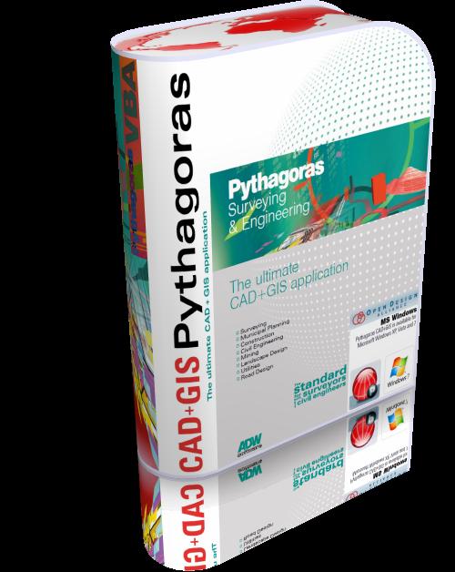 Pythagoras CAD + GIS 12.26