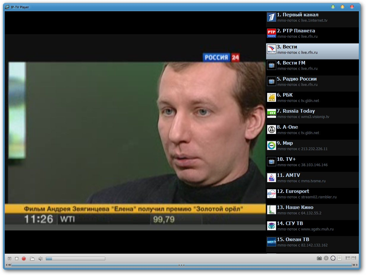 Скачать iptv player для windows 7 более 100 каналов - 753e