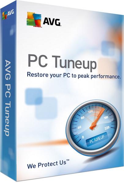 AVG PC Tuneup 2013 RUS + ключ скачать бесплатно - Тюне ап
