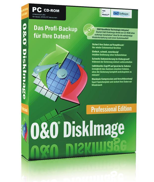 O&O DiskImage Pro 7.0 RUS скачать бесплатно - копирование данных