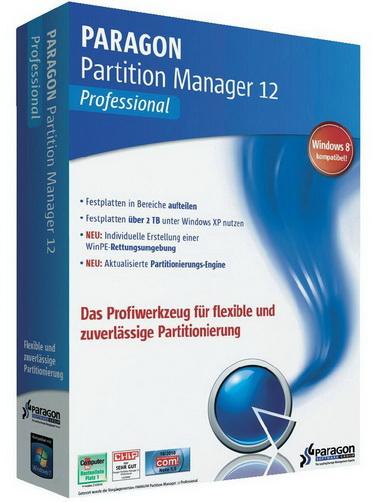 Paragon Partition Manager 12 PRO RUS - Парагон партишен менеджер скачать бесплатно
