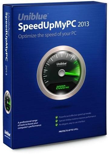 Uniblue SpeedUpMyPC 2013 ключ key скачать бесплатно