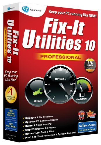 Compare prices and buy Fix It Utilities 10 Professional for PC online