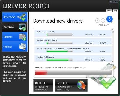 Driver Robot С Ключом